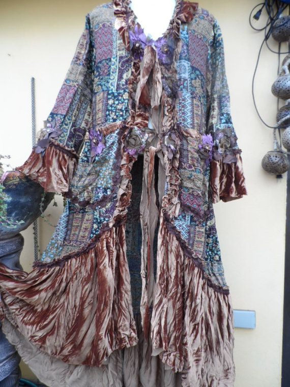 20 SALE vintage inspired brocade and velvet by wildskin on Etsy