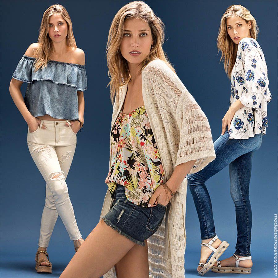 cd05a4cc837 Moda primavera verano 2018. Looks de moda para mujer. Moda urbana y  femenina primavera verano 2018.