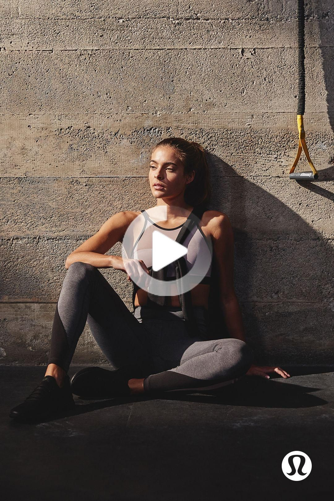 Train with confidence. | lululemon #fitness #fitnessworkout