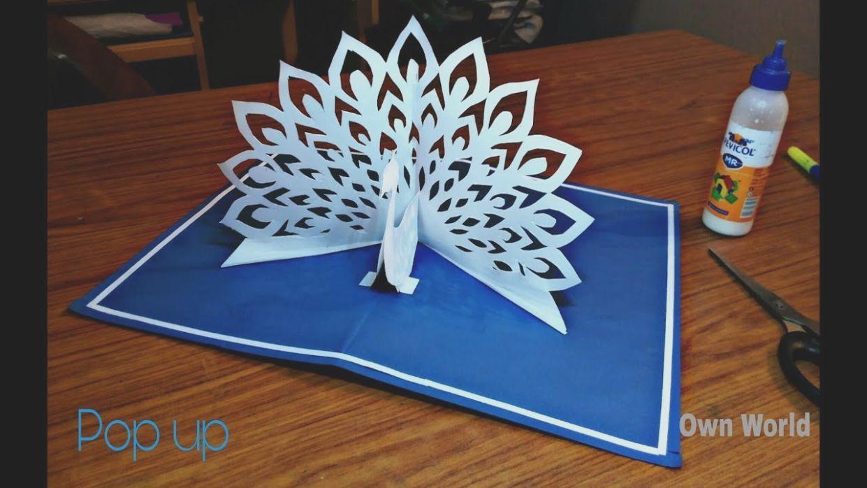 4 Paper Pop Up Card Pop Up Card Templates Paper Crafts Cards Diy Paper Crafts Decoration