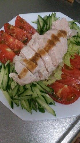 しっとりやわらか蒸し鶏 by そらおのえくぼ [クックパッド] 簡単おいしいみんなのレシピが257万品