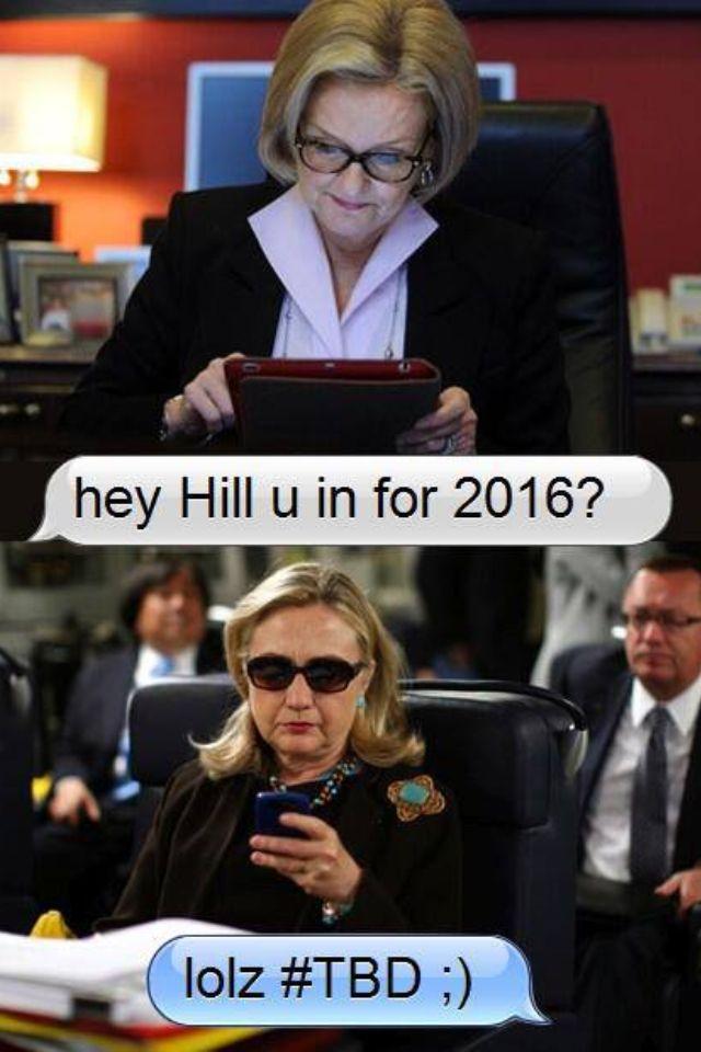 Come on, Hil!!! Doitdoitdoittttt