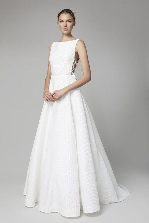 Minimalistische Brautkleider - Wer es lieber schlicht mag ...