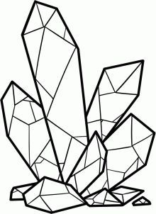 how to draw crystals step 7