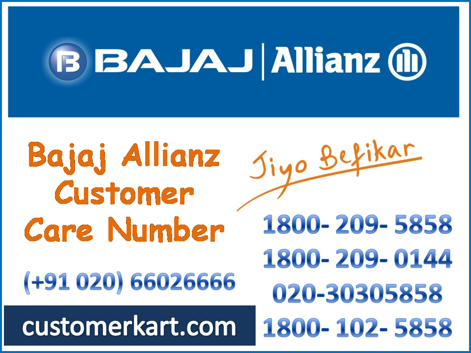 Bajaj Allianz Customer Care Number Customer Care Care Customer