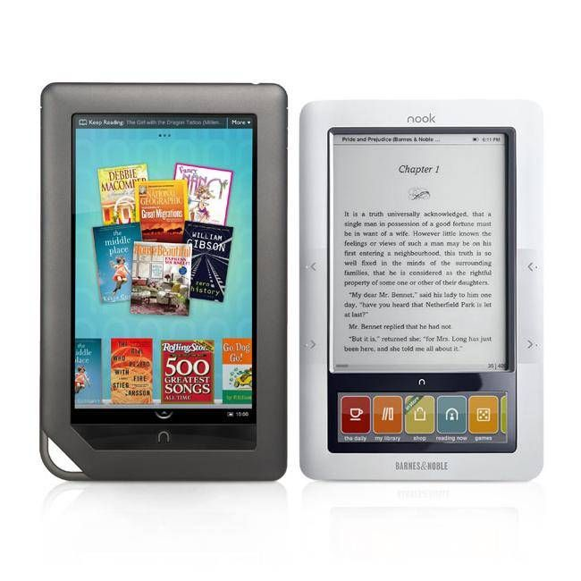 Nook Color will be available from November 19 at 249