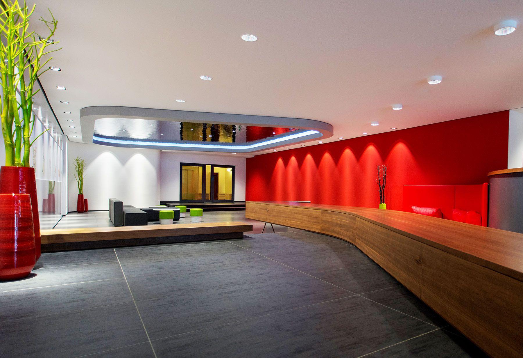 Pin auf Rewe Headquarter Foyer   Dortmund, DE