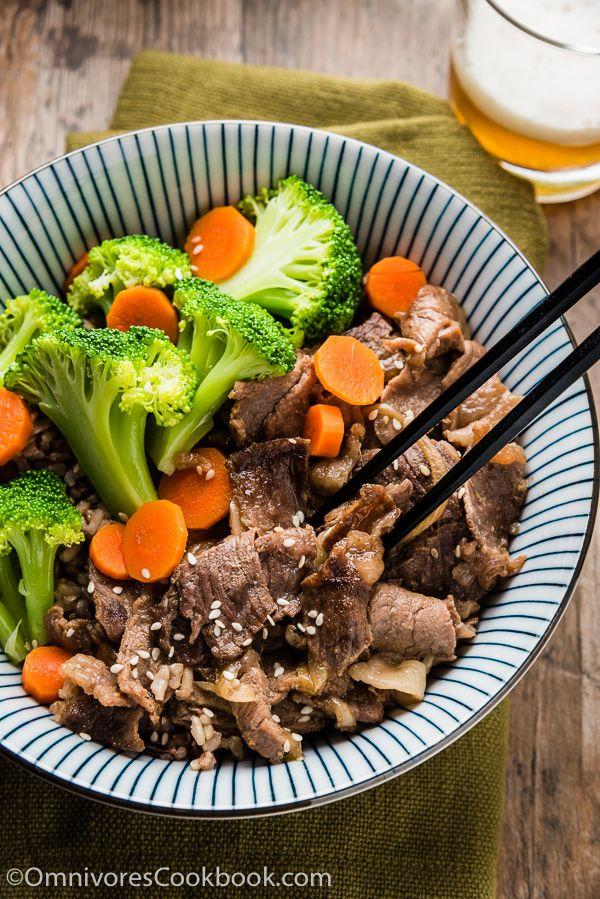Beef Rice Bowl (肥牛饭)