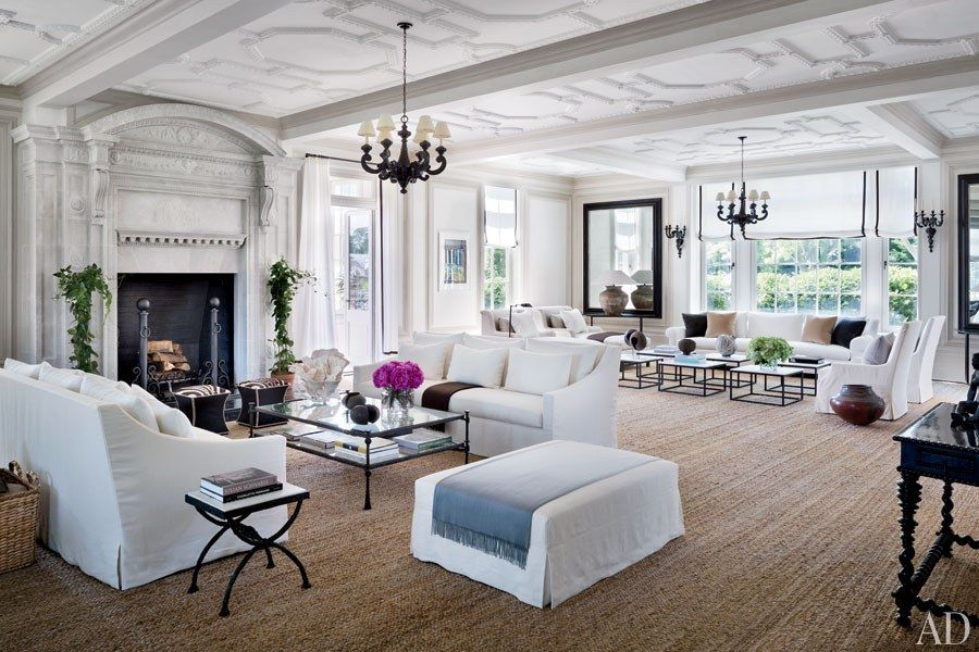 Restoring Louise and Vince Camuto's Jazz Age Manor in the Hamptons Photos   Architectural Digest