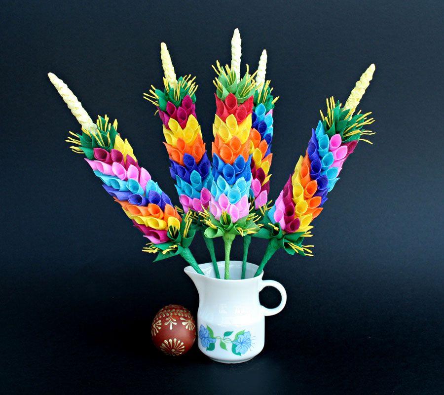 Palma Wielkanocna Mini Zoom Egg Decorating Easter Palma