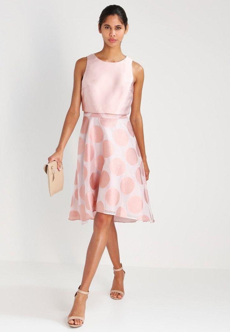 14 rosa kleid festlich