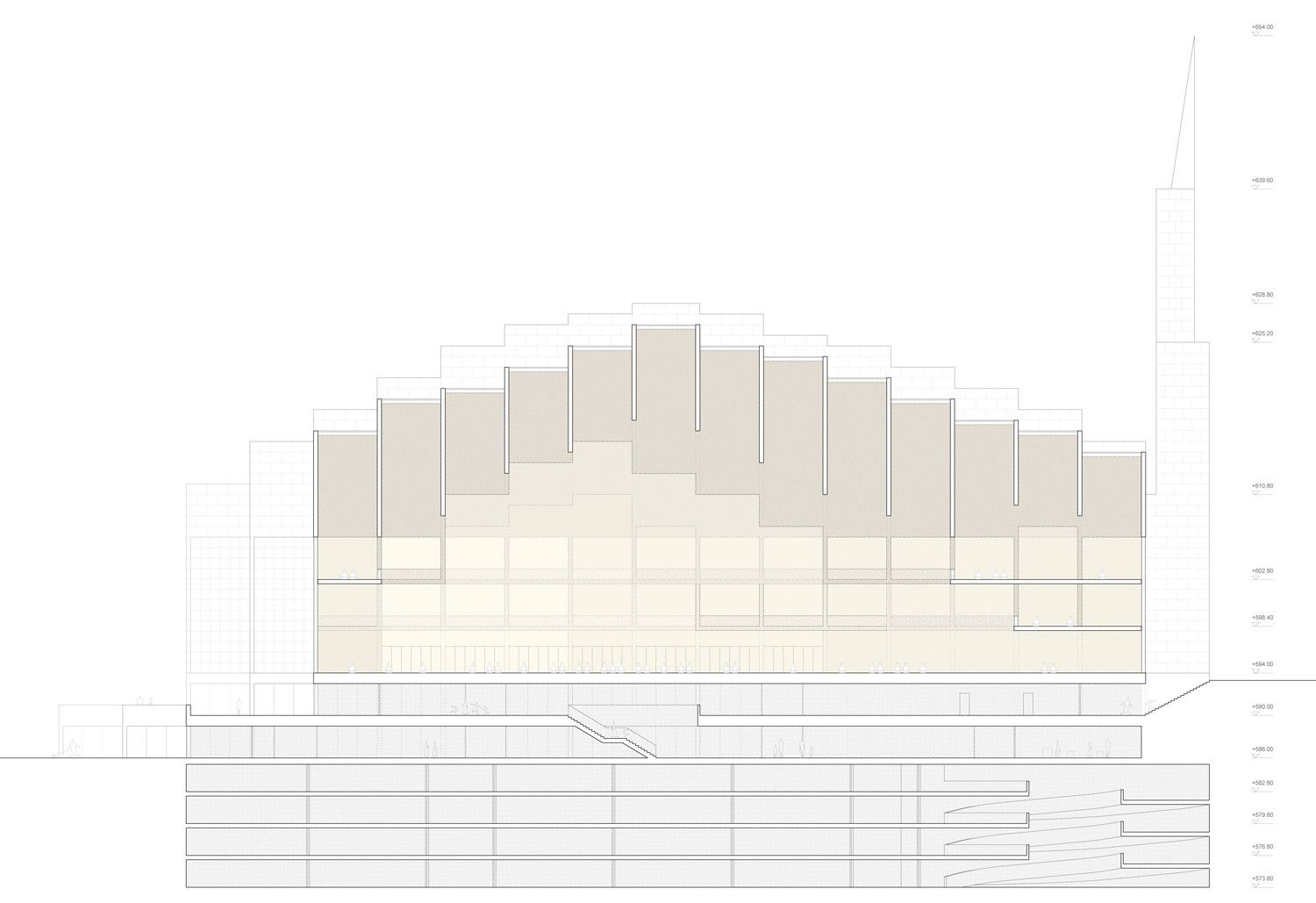 Gallery of Central Mosque of Pristina Competition Entry / Dürig AG - 11