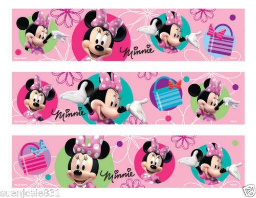 Minnie Mouse Edible Image Cake Strip Ebay Cake Design Strips