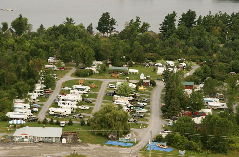 1000 Islands Campground At Alexandria Bay New York
