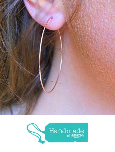 Large Rose Gold Filled Thin Hoop Earrings 45mm From Clutchandclasp Https