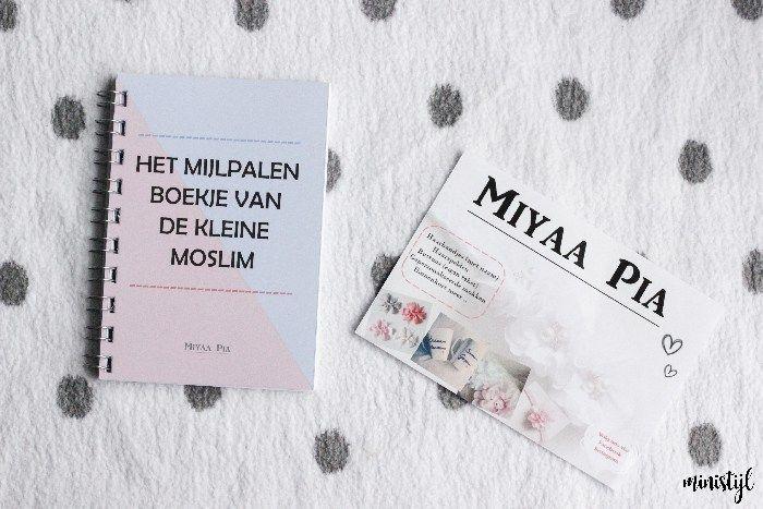 Schattige haarbanden en mijlpalenboekje | Miyaa Pia