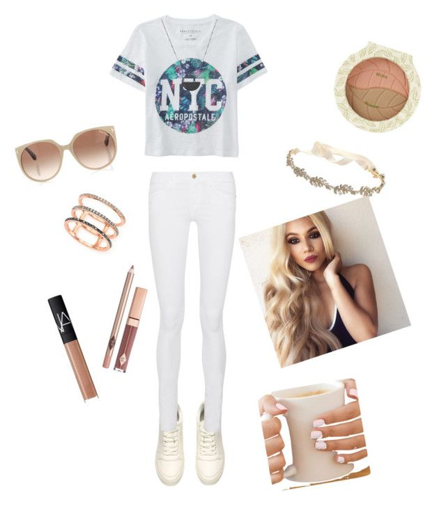 """""""GOOD MORNING ☀️"""" by aldeem-khaleel ❤ liked on Polyvore featuring beauty, Aéropostale, Frame Denim, Tom Ford, Marchesa, White House Black Market, EF Collection and NARS Cosmetics"""