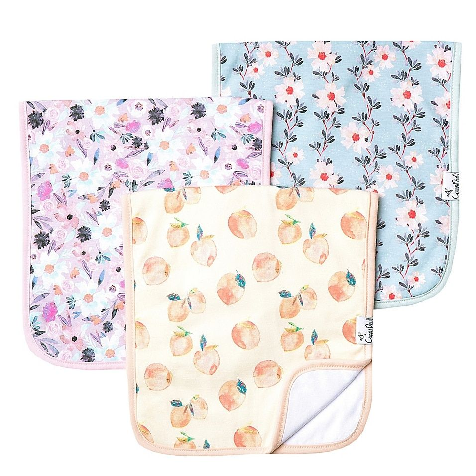 Copper Pearl 3-Pack Floral Burp Cloths Multi - These Burp Cloths from Copper Pearl are a must-have for any new parent. Perfect for keeping your little one clean and cute, this adorable assortment features 3 burp cloths crafted of an ultra-soft cotton blend.