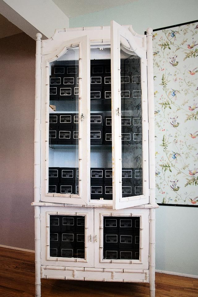 $1200 - Vintage Bamboo Cabinet