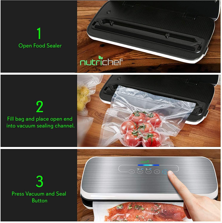Vacuum Sealer By NutriChef in 2020 Kitchen gadgets