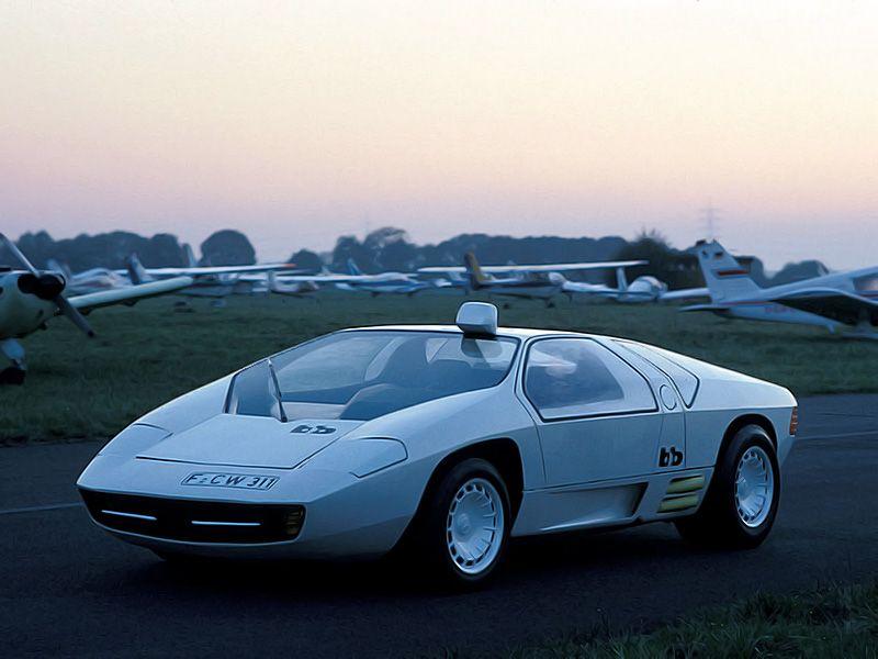 Isdera imperator 108i Mercedes-Benz Schulz Studie CW311 (1979)