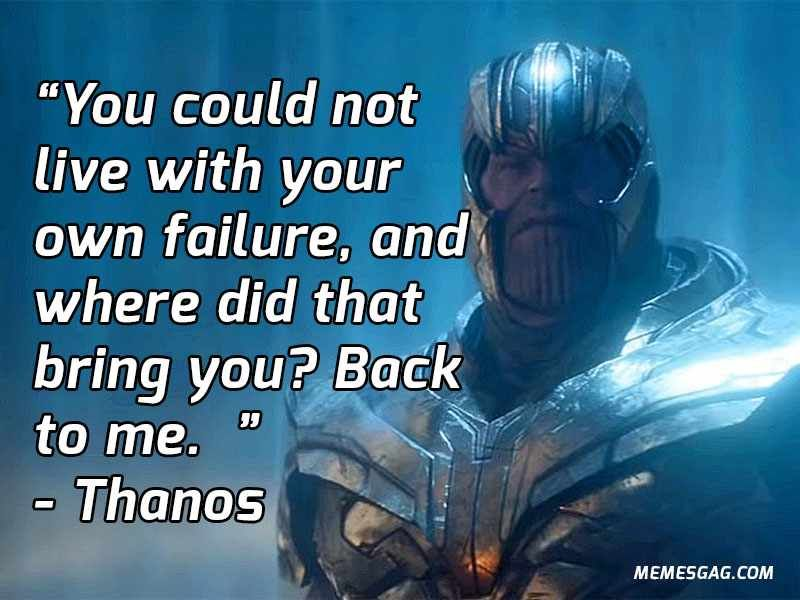 Greatest Thanos Quotes From Avengers Infinity War That Fans Will