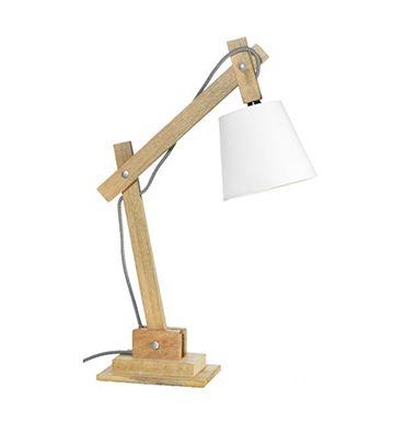 Grote Bureaulamp Zelf Maken Van Hout