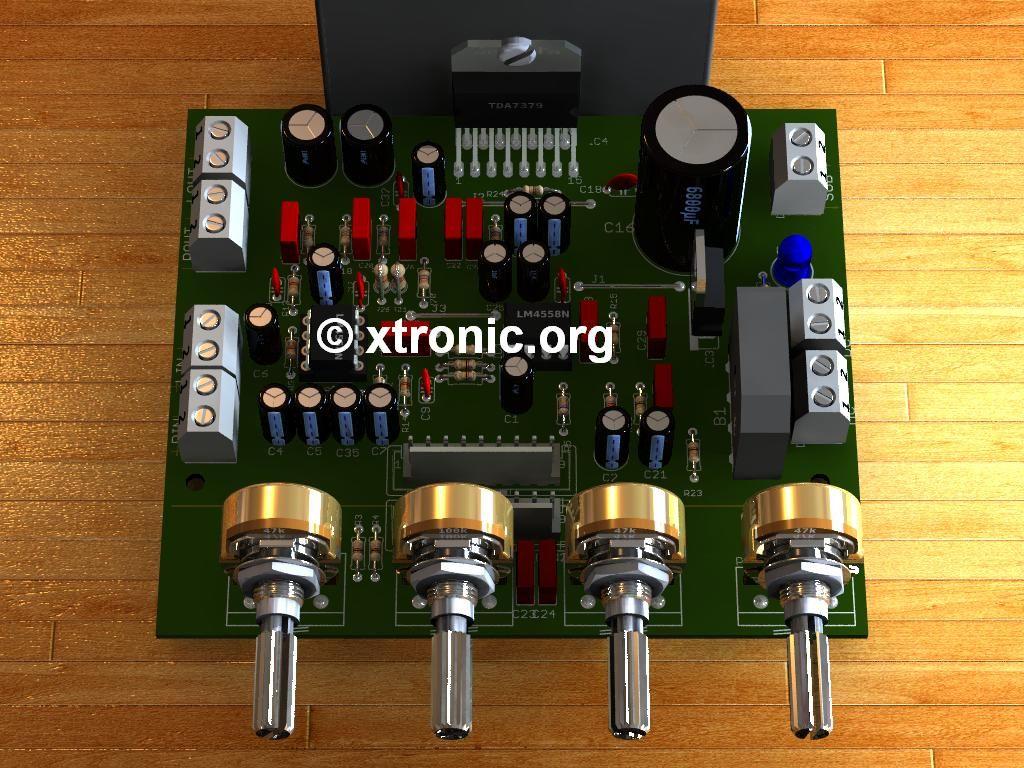 Pin By Phak Dra On Electronics Pinterest Audio Amplifier Power Circuit Schematic Circuits Tda7279 2 Hifi Supply Diagram