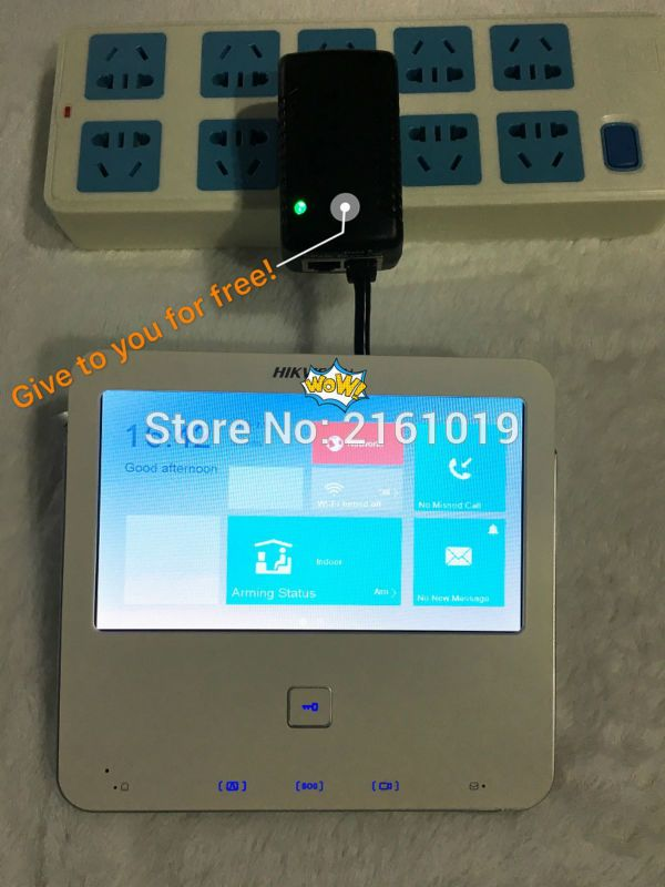 Hik Video Access Control DS-KH6300-A (DS-KH6300-W) Indoor Video ...