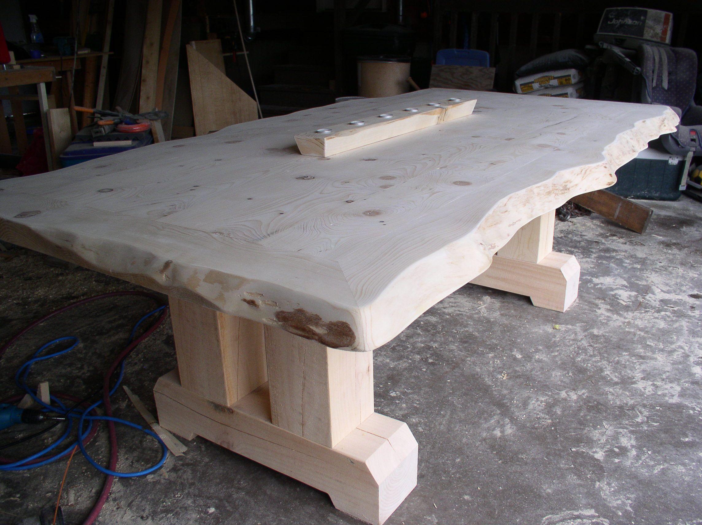 Doherty pine harvest table Diy farmhouse table