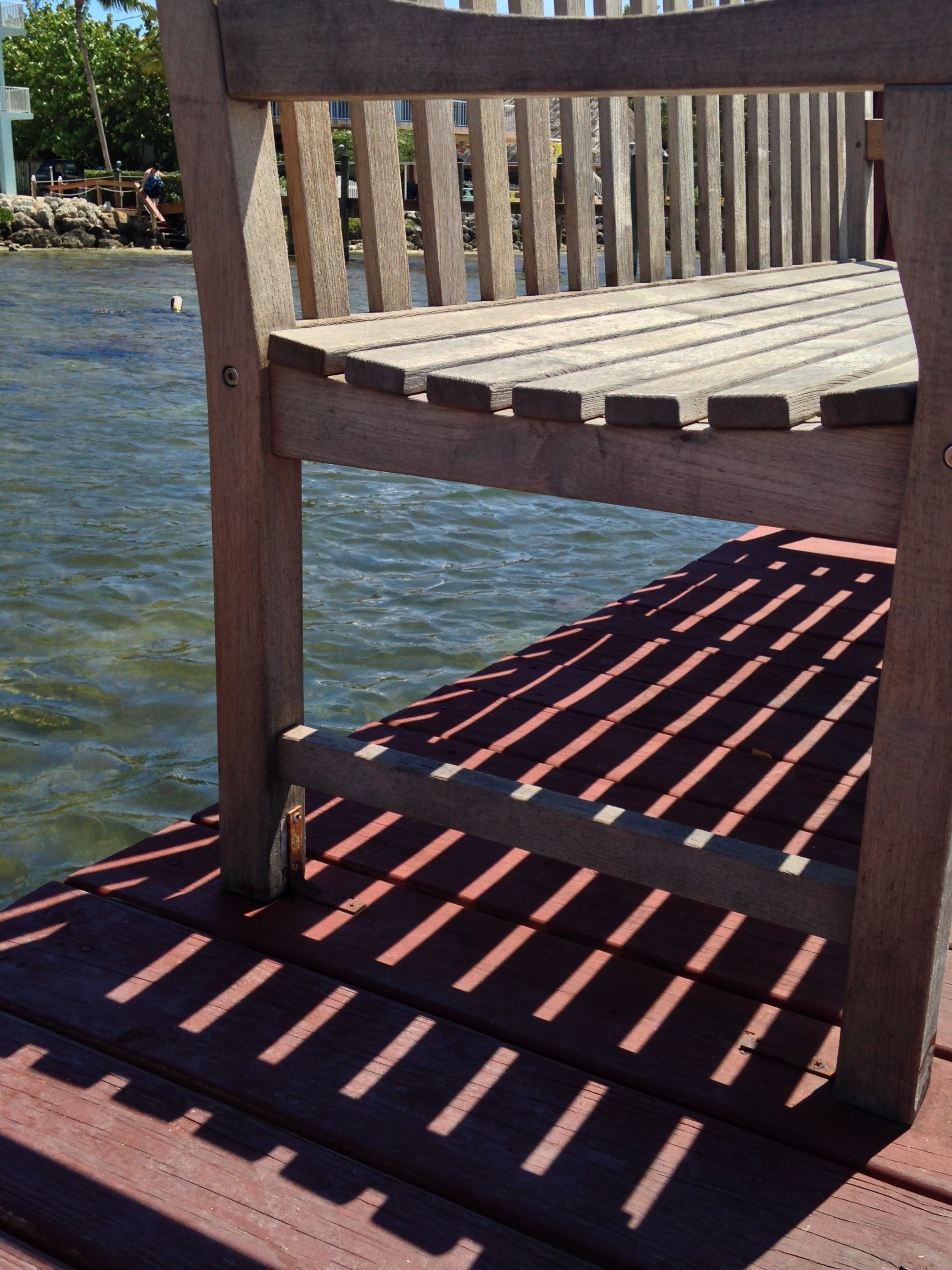 The Florida Keys, Benches, and Sunlight