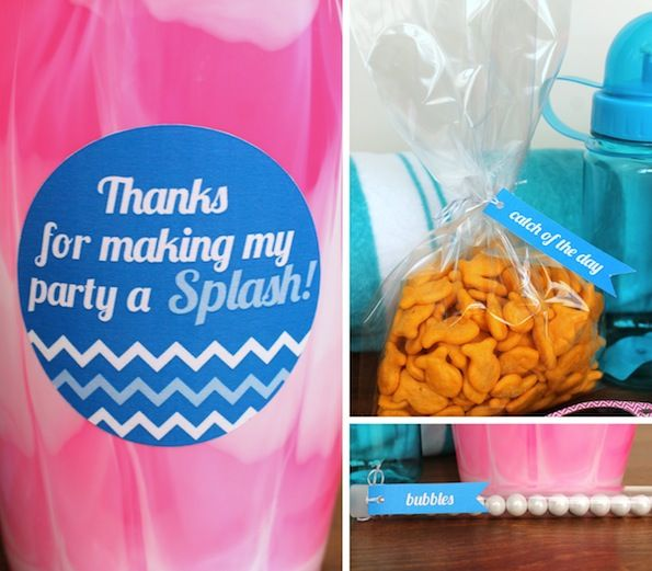 Evite Summer Party Ideas Kids Pool Favors