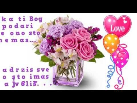 Za tebe draga kceri❤Sretan Rođendan - YouTube Garten - schöne schlafzimmer farben