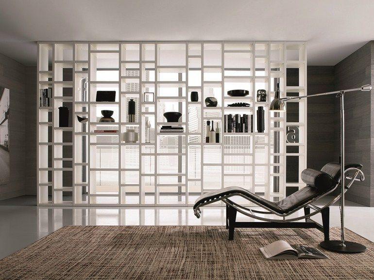 Librerie divisorie le soluzioni pi originali per arredare la tua casa dividing walls - Pareti divisorie mobili per abitazioni ...