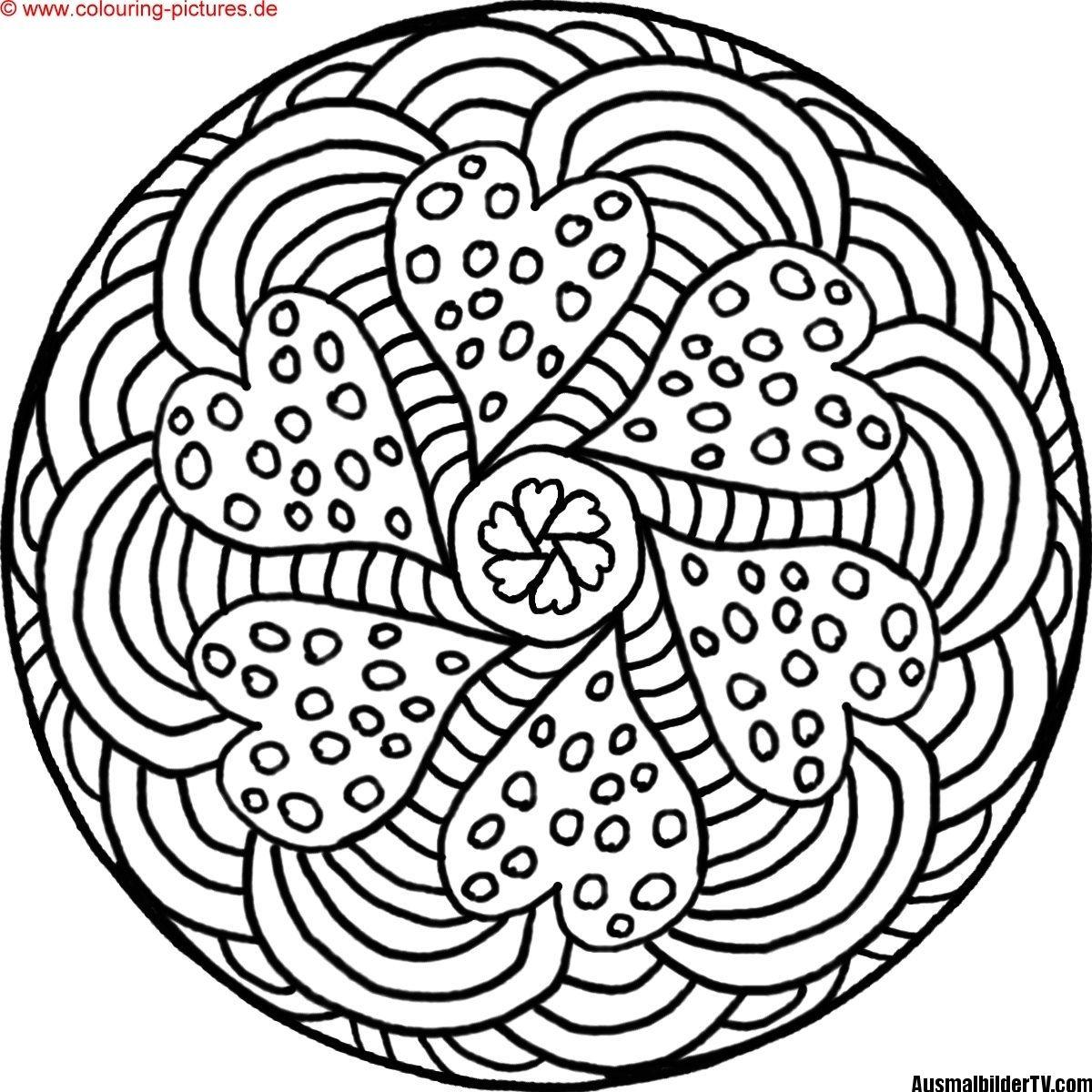 mandalas zum ausdrucken | Malvorlagen | Pinterest
