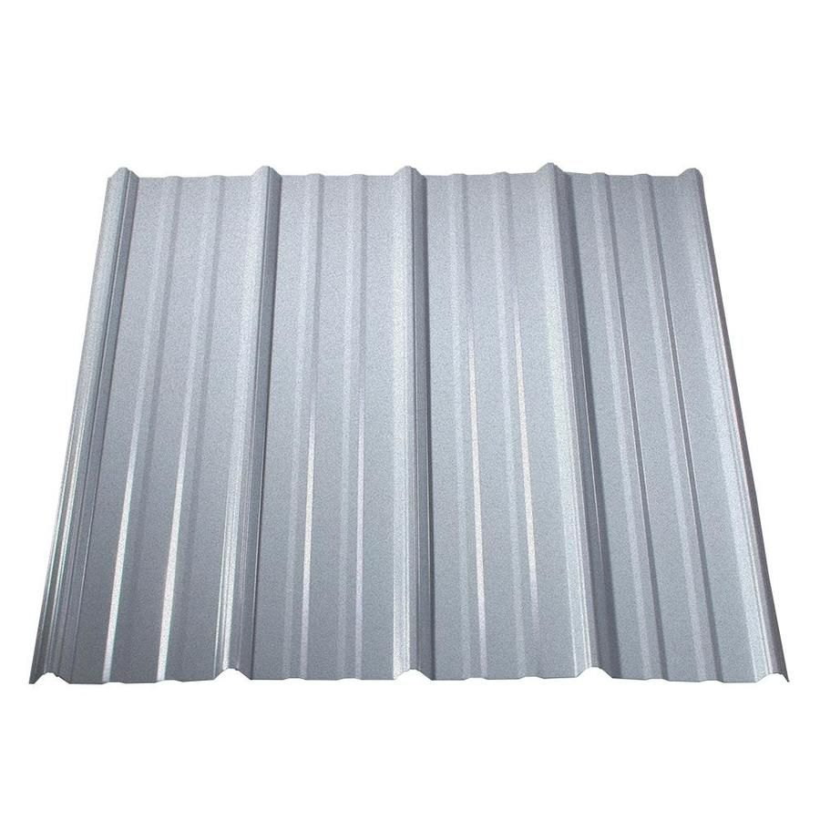 Metal Sales Classic Rib 3 Ft X 12 Ft Ribbed Steel Roof Panel With Images Roof Panels Metal Roof Steel Roof Panels