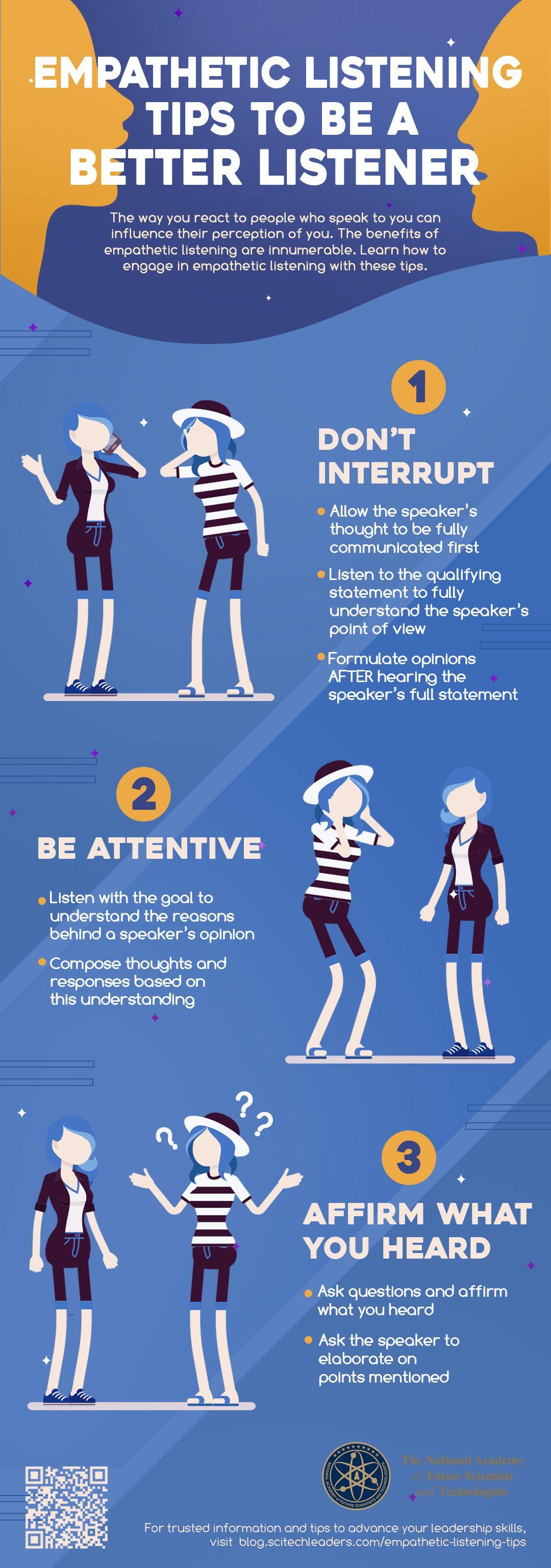 Empathetic Listening Tips To Be A Better Listener