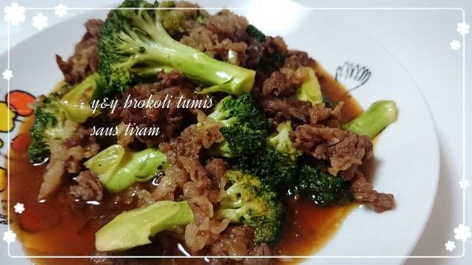 Resep Brokoli Tumis Daging Oleh Yny Resep Tumis Brokoli Resep Makanan