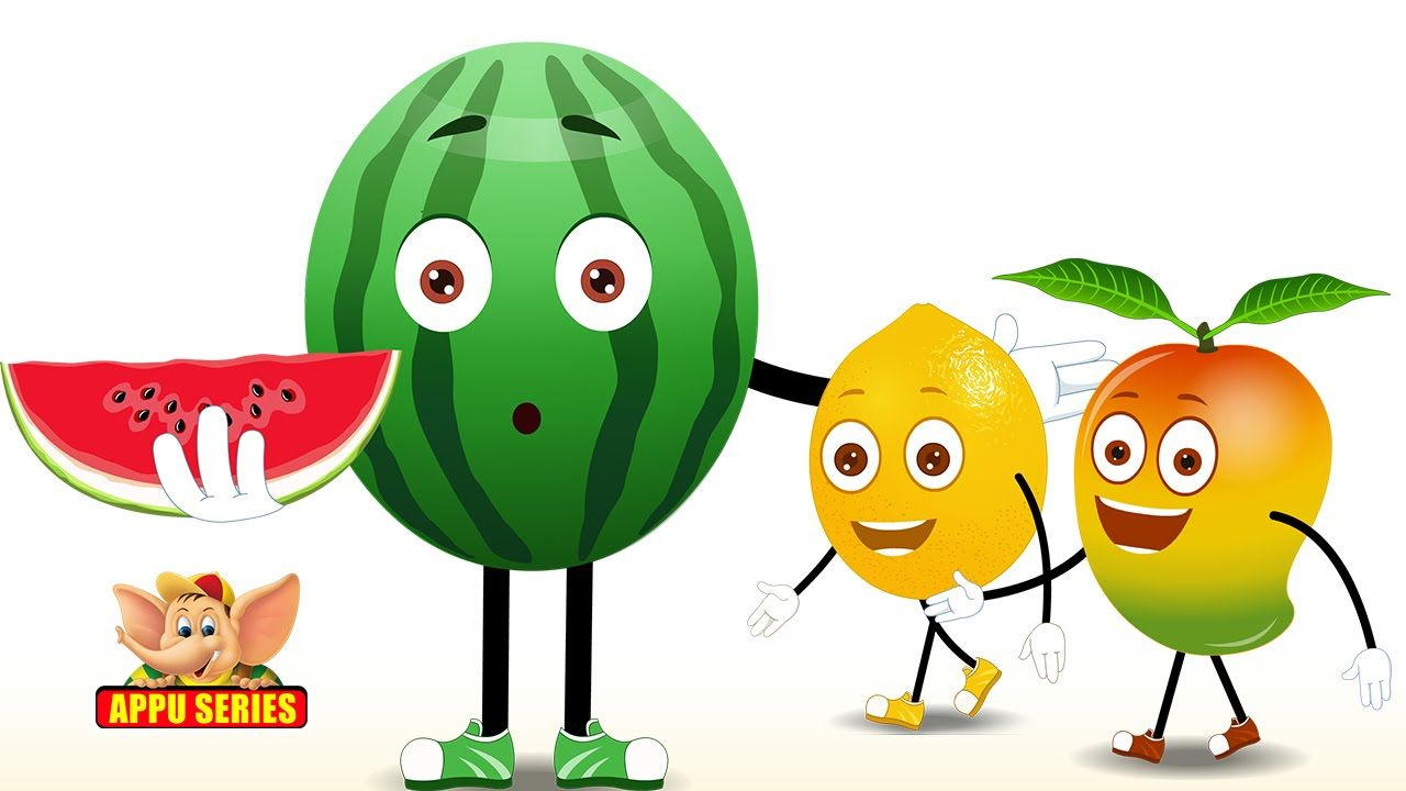 Fruit Rhymes - Best Collection of Rhymes for Children in English - Children's VIDEO - 1:13:41