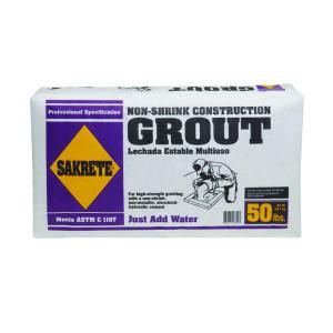 Concrete Countertops Sakrete 50 Lb Non Shrink Construction Grout 10 83 Rough Rule Of Thumb Is The Following At
