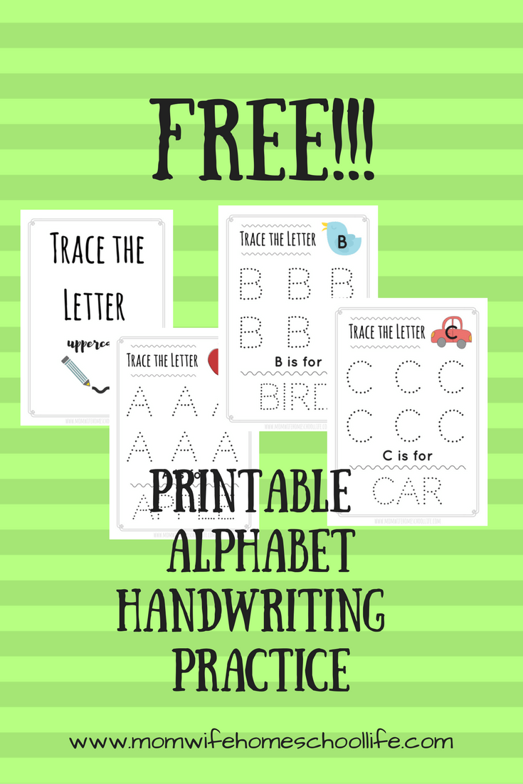 Trace the Letter: Uppercase Alphabet Tracing Worksheets | Alphabet ...