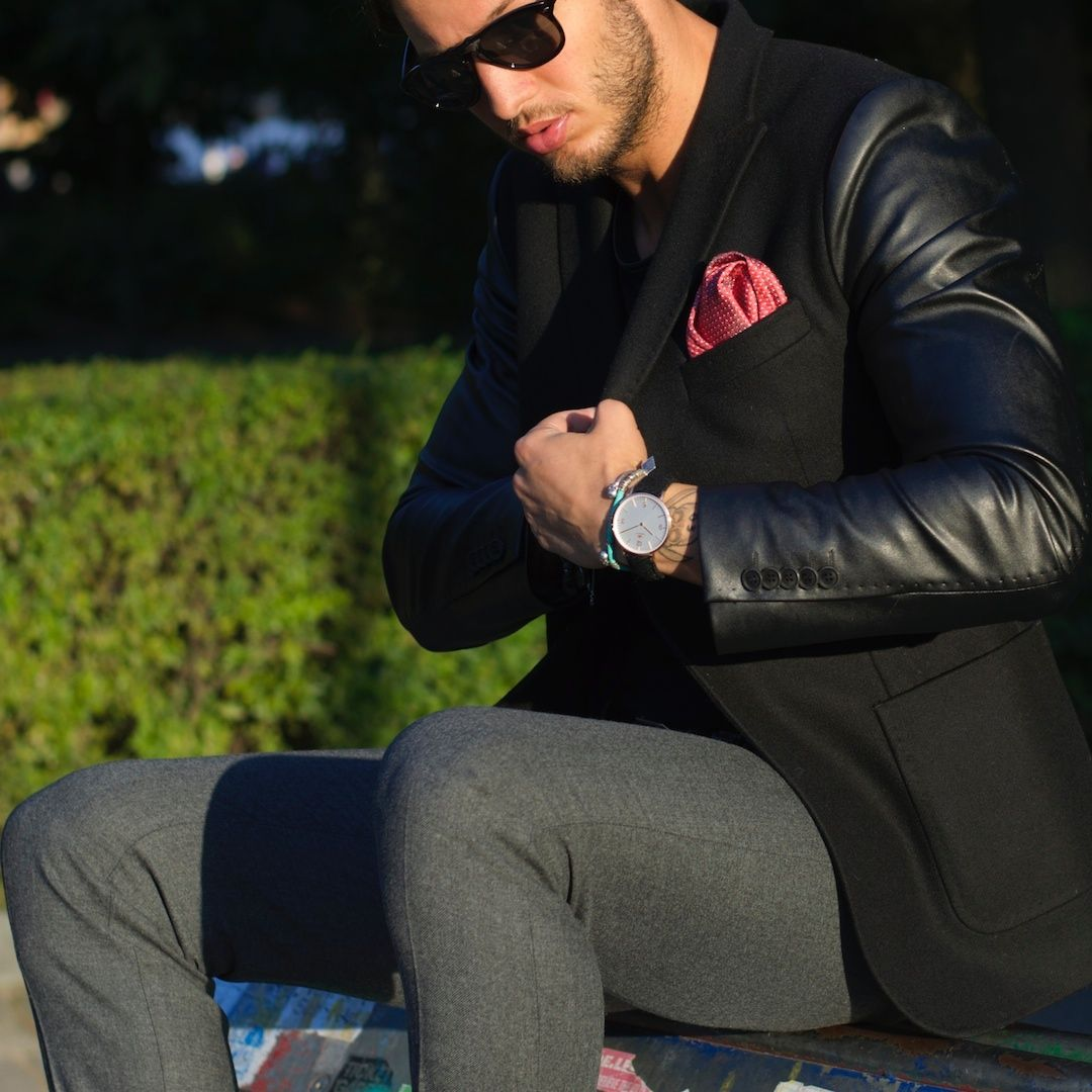 @philippegazarstyle is all about #details. Kingswood in Rose Gold | we ship worldwide | www.birline.com Shop now: http://bit.ly/1C5hZLq #black #harristweed #dapper #luxury #watch #mensfashion #menswear #gq #menwithclass #suitup