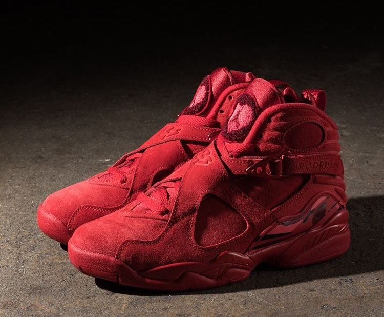 Air Jordan 8 Valentine S Day Shoe Game In 2018 Pinterest