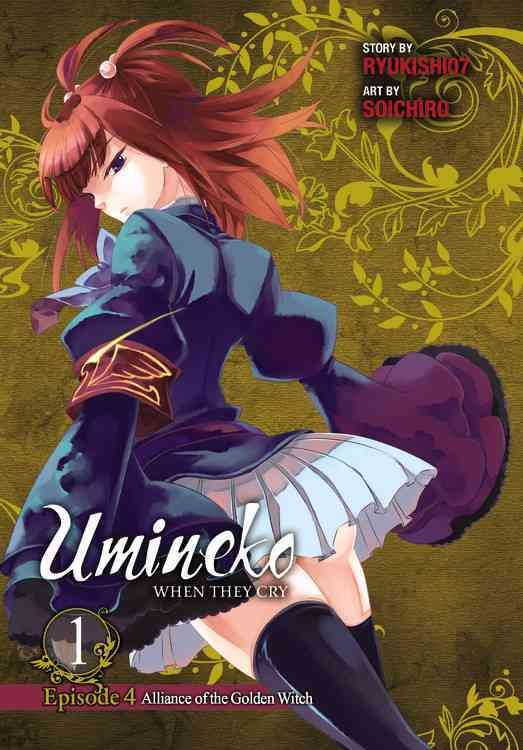 Umineko When They Cry Episode 4 Alliance of the Golden Witch 1