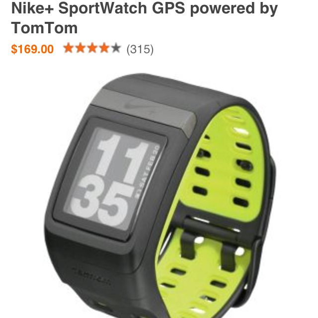 Nike running watch Best Gift ever, thanks to the BF