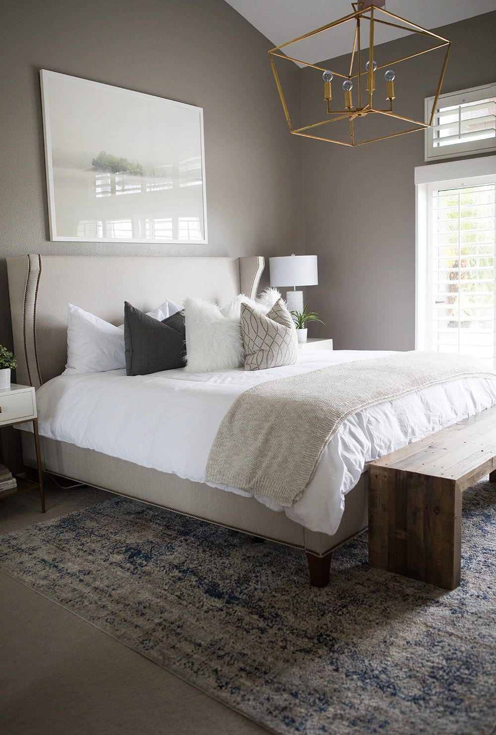 Photo of Our Master Bedroom – Kailee Wright