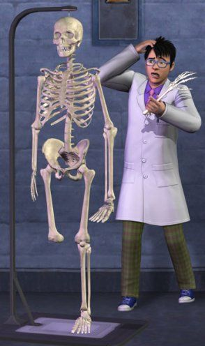 The Sims 3 University Life science major