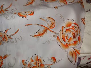 Rose fabric ~ The Clueless Couturière