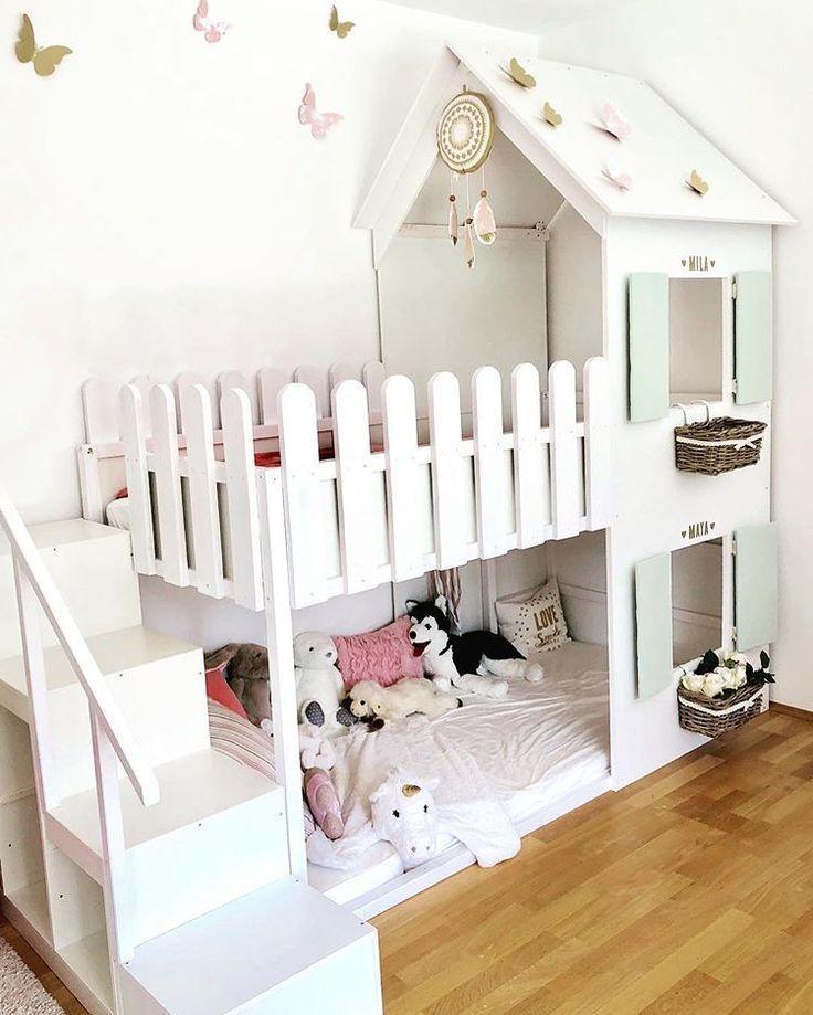 55 Coole IKEA Kura-Betten-Ideen für Ihr Kinderzimmer – Kinderzimmer ideen