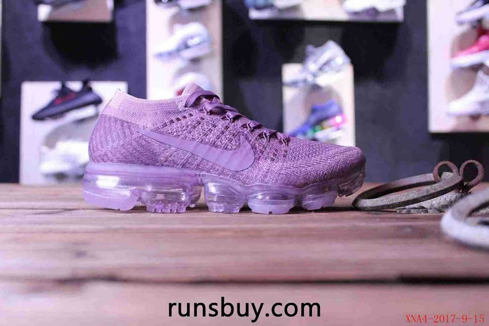san francisco 9aedb a4450 Nike Air VaporMax 2018 Flyknit Purple Violet Women